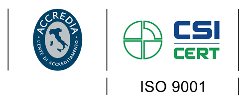 The ISO 9001 certification